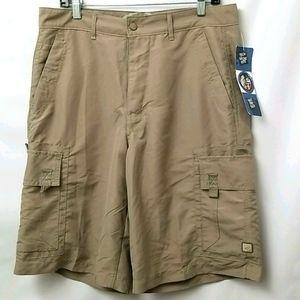 Gotcha Mens Shorts Size 36 Dark Tan